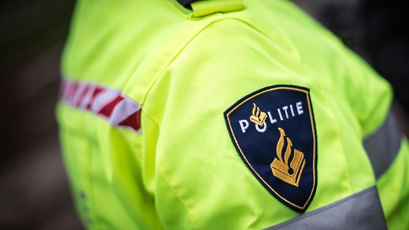 Agent met politiejas