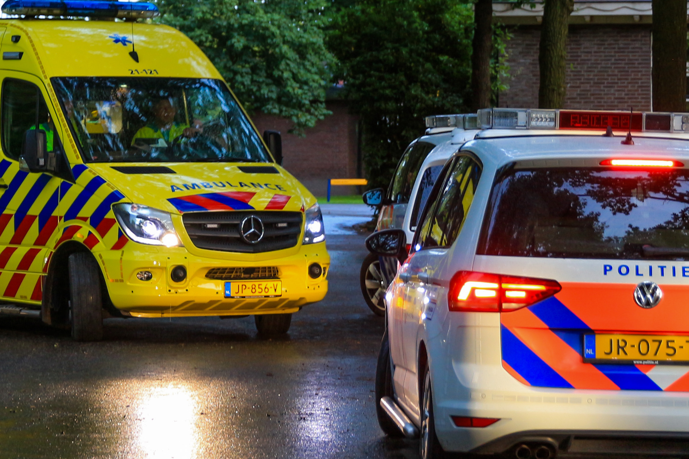 ambulance en politie