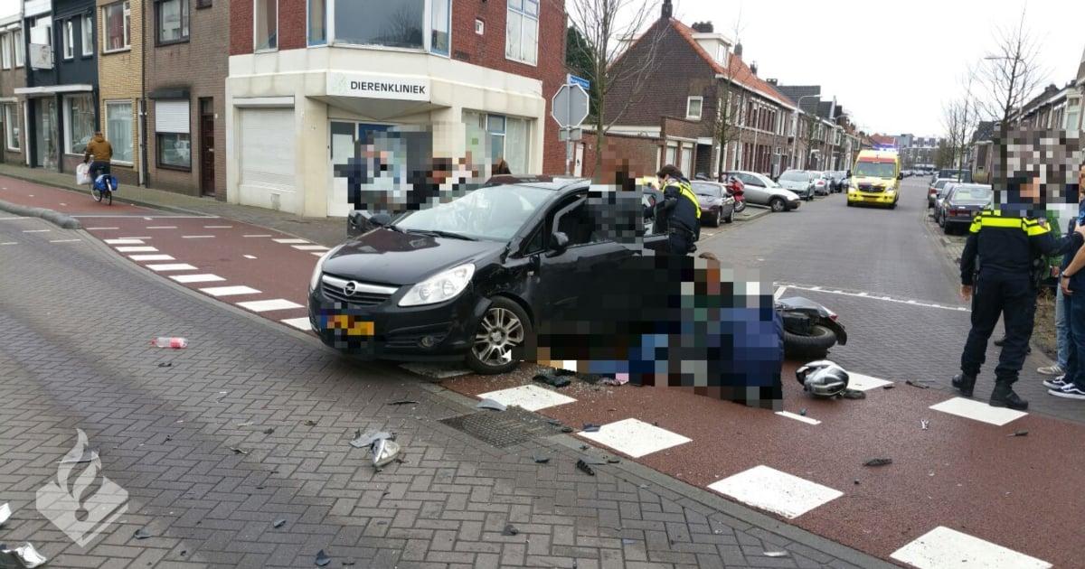 Ongeval Tilburg Koestraat