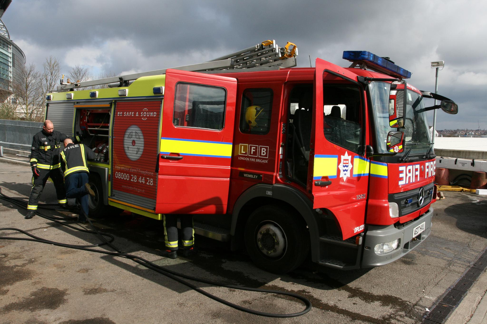 Engelse brandweer
