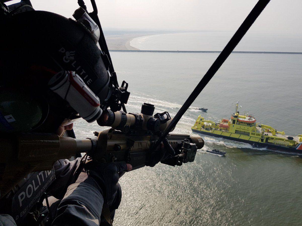 Terrorismebestrijding in de haven