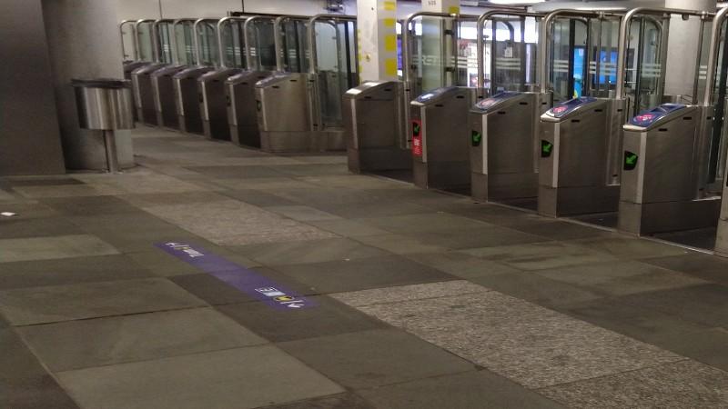 metrostation Beurs