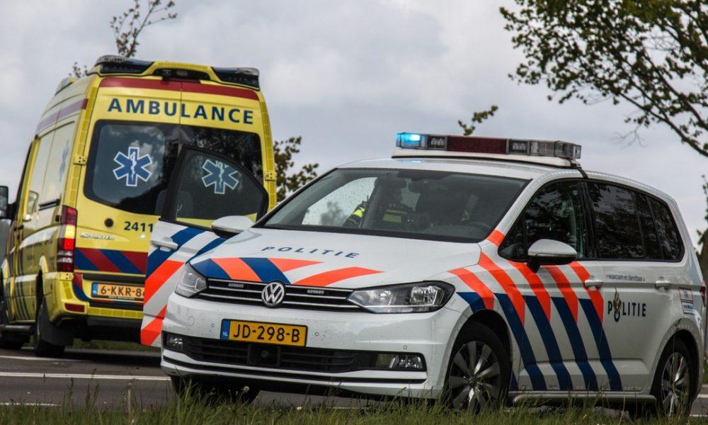 Meerdere gewonden na verkeersongeval Rotterdam.