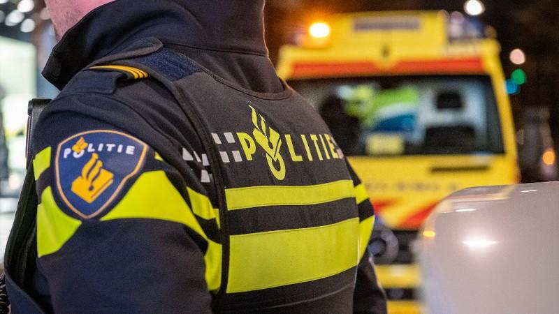 Automobilist ernstig gewond bij eenzijdig ongeval Leusden.