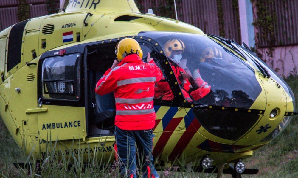 Kind gewond na ongeluk met speeltoestel bij schoolterrein.